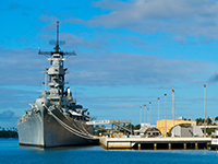 Pearl Harbor Arizona Memorial - USS Missouri