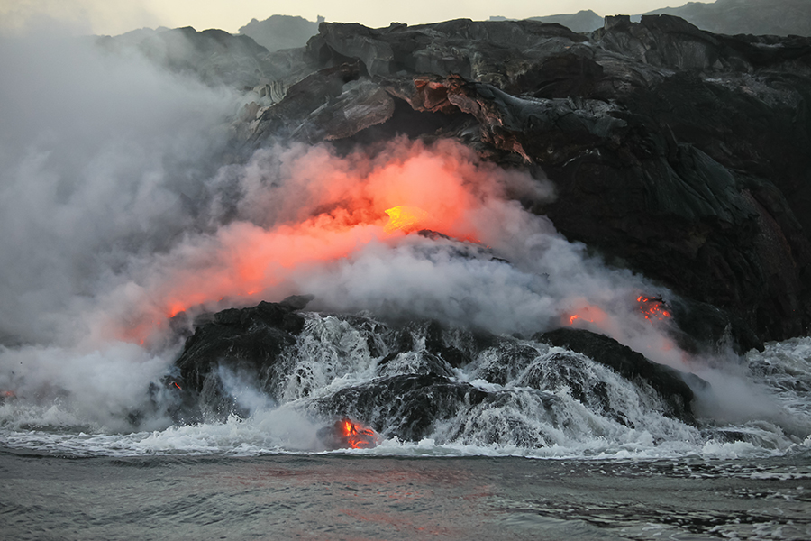 Big Island of Hawaii Volcano